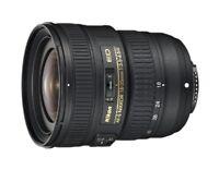 Nikon ultra wide angle zoom lens AF-S NIKKOR 18-35 mm f/3.5 - 4.5 G ED full size