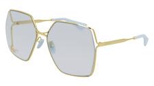 Gucci GG0817S Gold/light Blue 65/17/140 Damen Sonnenbrillen
