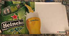 Heineken Blank Vinyl Banner With Grommets Great For Man Caves And Dorms 3' X 6'