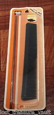 Vintage Hair Comb Tip Top Black Wide to Narrow Taper Black USA Hair Accessory