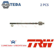 2x TRW FRONT INNER Axial Joint Tie Rod JAR1176 P NEW OE QUALITY