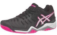 Gel Resolution 7 Women's Shoe Black/Silver/Hot Pink Size 7.0