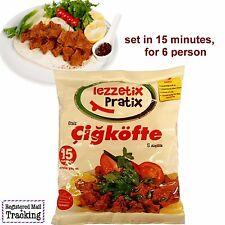 "LEZZETIX - TRADITIONAL TURKISH CIG KOFTE ""raw meatball"" SET - 430gr / 15,17oz"