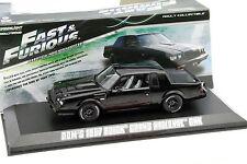 Dom's Buick Grand National GNX film Fast et Furious 4 2009 noir 1:43 Greenlight
