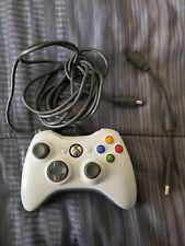 Original OEM Microsoft Xbox 360 Controller Wired + USB Adapter