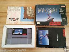 100% Authentic Final Fantasy Mystic Quest Nintendo Super Nes Tested (Complete)