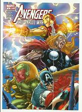 "2011 MARVEL AVENGERS KREE-SKRULL WAR 9 CARD ""COVER SET"" 5 SET LOT C1-C9 PUZZLE"