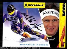 Markus Foser AK 90er Jahre Orig. Sign. +A 3006 + A 65819