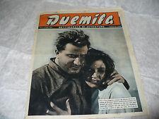 DUEMILA SETTIMANALE DI AVVENTURE N.5 1951 RARA RIVISTA FOTOROMANZI D'AURIA MOGOS