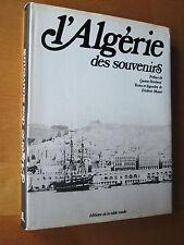 Frédéric Musso L'Algérie des souvenirs ed Table Ronde Dédicacé