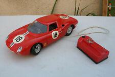 Paya Ferrari 250 Le Mans Filoguide 1/12 manque 1 pieces cache noir