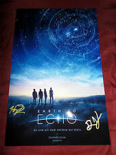 Earth to Echo -  Dave Green and Writer Henry Gayden - signed 11x17