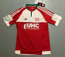 MLS New England Revolution Adidas Climacool Soccer Jersey Youth XL Retail $50