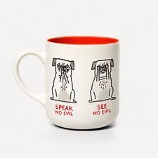 TAZZA in ceramica in scatola. l'odore alcun male, Gemma Correll. Tè/Caffè Coppa. HOME. regalo. CARLINO