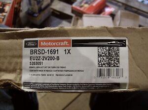 GENUINE FORD BRSD-1691 MOTORCRAFT PREMIUM REAR BRAKE PAD SET