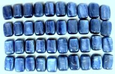 KYANITE 14 x 10 MM CUSHION CUT ALL NATURAL GREAT BLUE COLOR