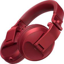 Pioneer DJ HDJ-X5BT Bluetooth Over-Ear DJ Producer Headphones (Metallic Red)