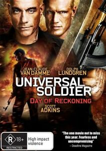Universal Soldier 4 - Day Of Reckoning (DVD, 2012) FREE POST