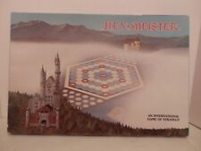 Vintage 1980 Hex Meister Strategy Board Game-EUC-Complete-Free Shipping