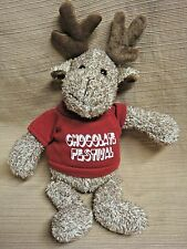 "Plush MOOSE DOLL in ""Chocolate Festival"" Sweater - It's All Greek to Me AD PIECE"