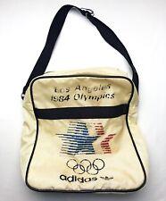 True Vintage 1984 ADIDAS Los Angeles Summer Olympics Over-The-Shoulder White Bag