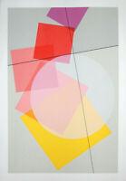 "Luigi VERONESI - ""Composizione"", 1992 - Serigrafia, 100 x 70 cm"