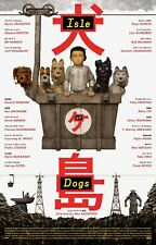 "Isle of Dogs ""B"" 13.5x20 Promo Movie POSTER"