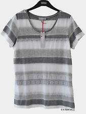 Per Una Women's Striped Scoop Neck Other Tops & Shirts
