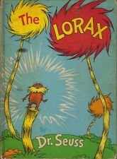 THE LORAX-1ST/1ST-1971-DR. SEUSS W/LAKE ERIE ISSUE POINT-RARE COLLECTIBLE-NICE!