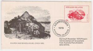 (Y3-29) 1979 Pitcairn Island PSE Church & School house (AD)