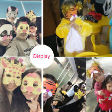 2018 Cute Quality  7 Type EVA Foam Animal Masks for Kids Party Cosplay Gift