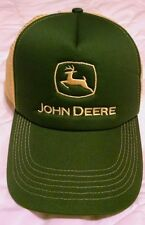 John Deere Hat Jd Green/Yellow One Size Fits All Used Once
