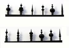 Scale Structures LTD style FINIALS and Lightening Rods for Rooftop HO Scale