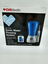 NEW! CVS Sonic Water Flossing System All-in-One