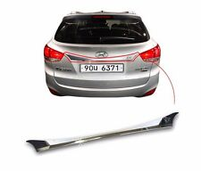 Rear Trunk Chrome Garnish Molding Cover Trim For 2010-2014 Hyundai Tucson ix35