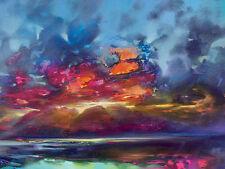 Scott Naismith (isla de luz) WDC99885 Caja Lienzo Arte Impresión 40cm X 50cm