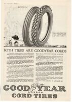 1917 ORIGINAL VINTAGE GOODYEAR TIRE MAGAZINE AD