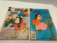 Little LuLu Comic Books Lot 2 1970s Whitman Gold Key Vintage