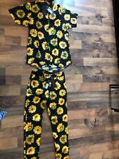 Motel sunflower shirt and jeans Size S. Brand New