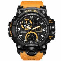 SMAEL Men's Military Sport Luminous Analog LED Digital Quartz Chrono Wrist Watch