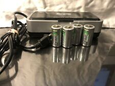 Energizer CHFCV2 Universal Battery Charger NiMH With 4 C Batteries, Tested