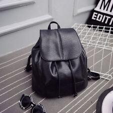 Women's Girl Leather Backpack Rucksack Travel School Satchel Shoulder Bags 0077Z