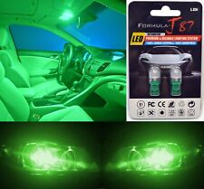 LED 5050 Light Green 168 Two Bulbs Front Side Marker Parking Show Replacement