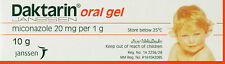 4x 10g Daktarin Oral Gel Miconzale 2% | Treat Oral Thrush / Fungal Infections