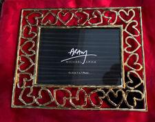 NEW Michael Aram Gold Tone Pierced Heart Photo Picture Frame 5x7  4x6