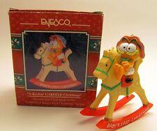 Enesco A Rockin' Garfield Christmas Ornament (1992-1993) (045544072809)