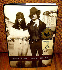 SIGNED Patti Smith Just Kids Robert Mapplethorpe Hardcover Dust Jacket