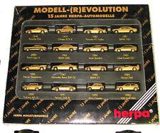 HERPA 1:87 166096 Set Aniversario 15 años modelo- (R) EVOLUTION Golden