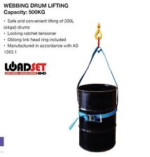 0.5T Webbing Drum Lifter drum lifting sling barrel lifter 500kg WLL