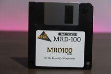 Ensoniq MR Series MRD-100 In Box Sound & Rhythm Factory Disk - MR61 MR76 MRD100